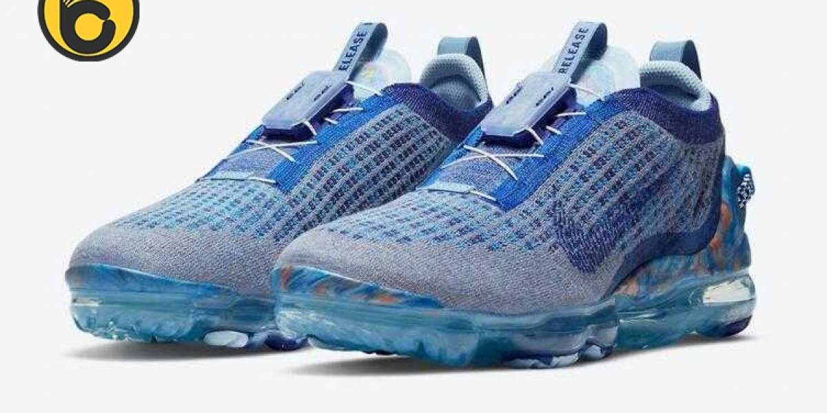 Nike Air VaporMax 2020 Stone Blue to Release Next Monday
