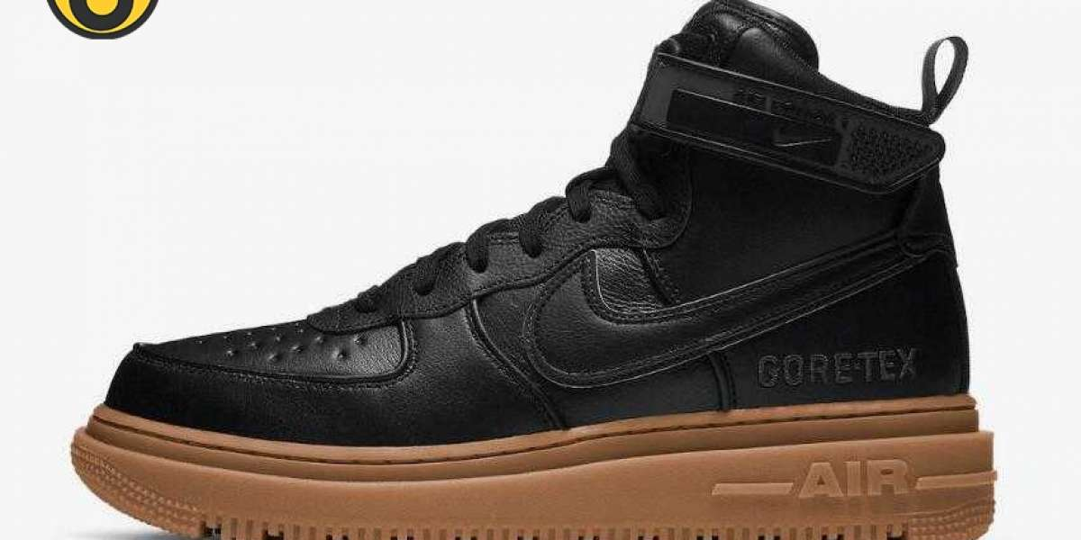 Nike Air Force 1 Gore-Tex Boot Black Gum to Arrive on October 28, 2020