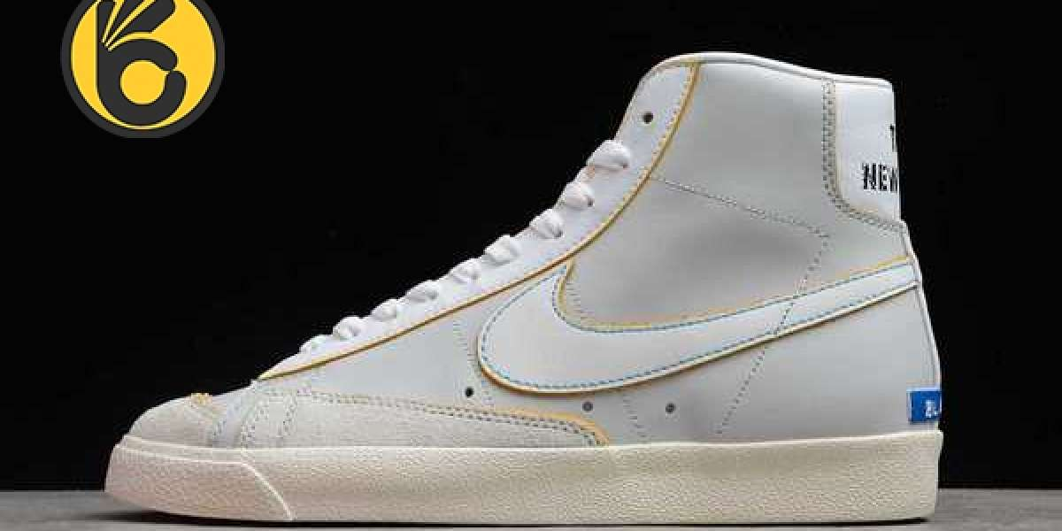 """The New Nike Blazer Mid """"The New Way"""" DC5203-100 is on sale, are you excited?"""