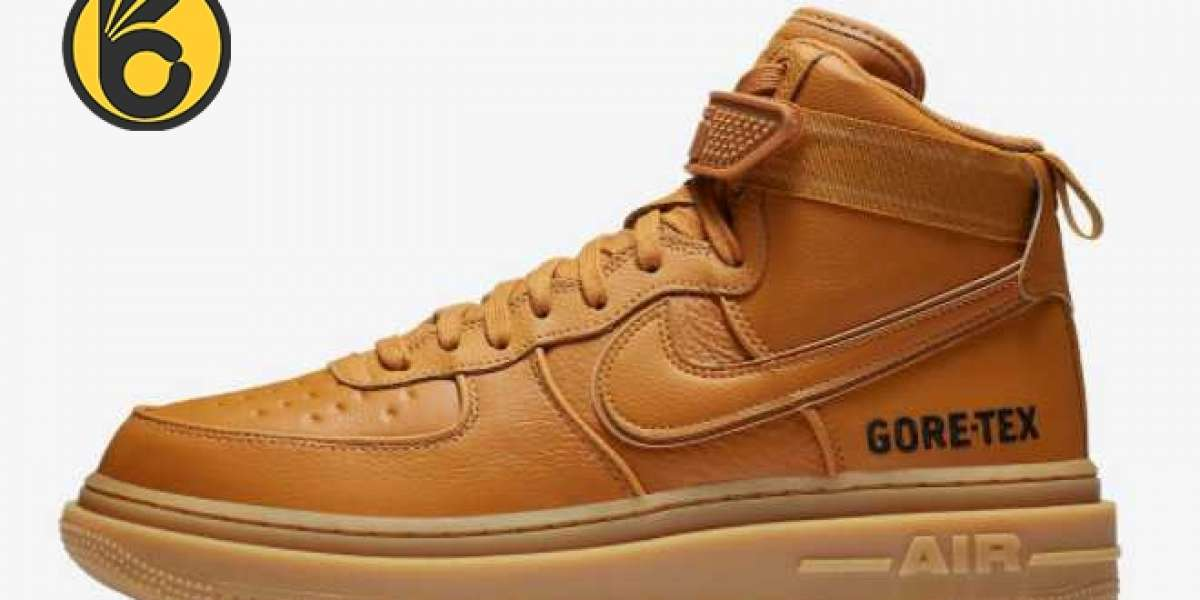 """Just buy a pair of Nike rhubarb boots in winter! Nike Air Force 1 Gore-Tex Boot """"Wheat"""" For Sale Online"""