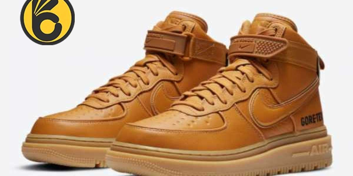 "Where To Buy Nike Air Force 1 Gore-Tex Boot ""Wheat"" Flax/Wheat-Gum Light Brown CT2815-200 ?"