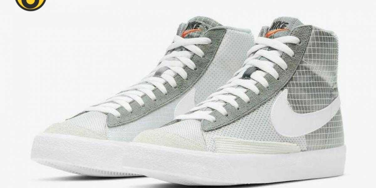 2020 Latest Nike Blazer Mid '77 Patch Covered in Mix Materials for Sale