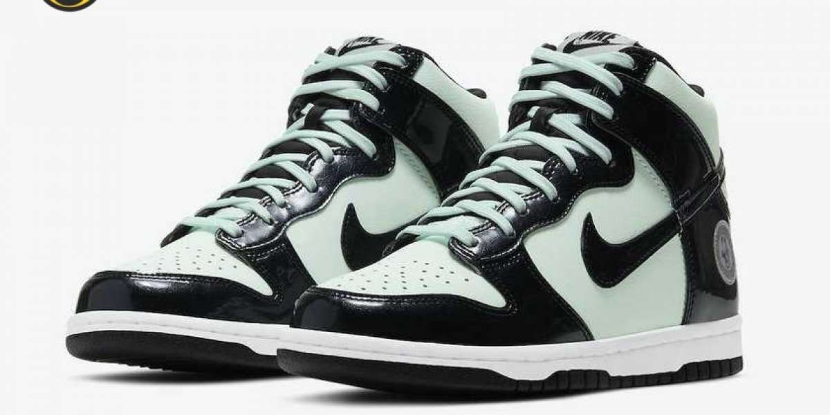 "DD1398-300 Nike Dunk High ""All-Star"" Will Be Released On February 11"