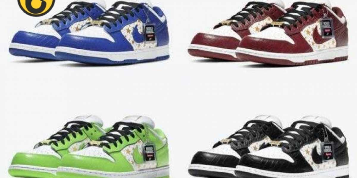 2021 Supreme's Nike SB Dunk Low Collection Gonna Releasing Soon