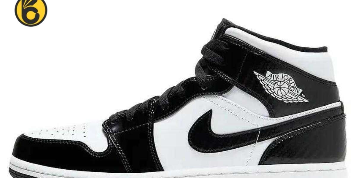 To Buy New Arrive Air Jordan 1 Mid All Star Carbon Fiber Sneakers