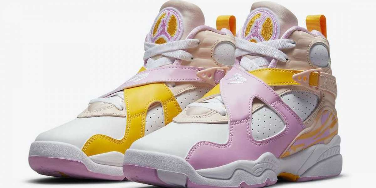 "580528-816 Air Jordan 8 GS ""Arctic Punch"" to release on May 27th"